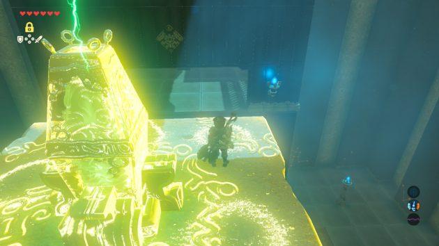 ピタロックで祭壇の扉を開ける