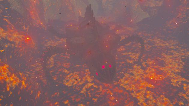 灼熱の神獣ヴァ・ルーダニア