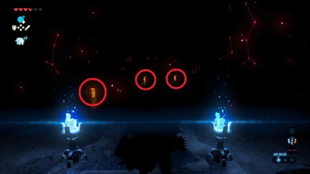 3匹のヘドロガノンを倒すと3つの宝箱が現れる