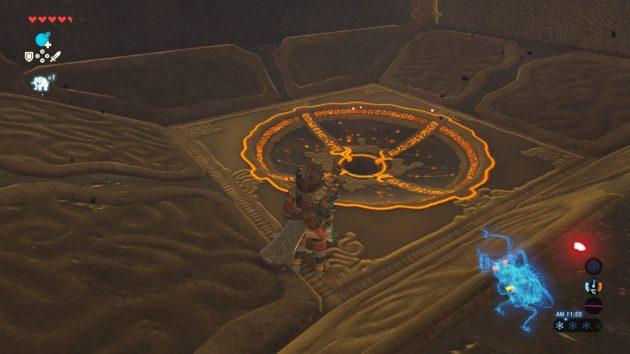 神獣ヴァ・ルーダニアの仕掛けは試練の祠のパワーアップバージョン