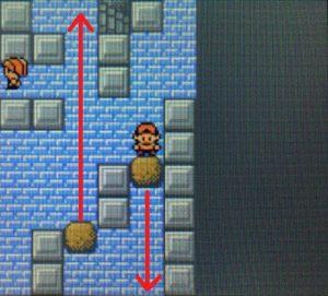2個目の岩の落とし方①