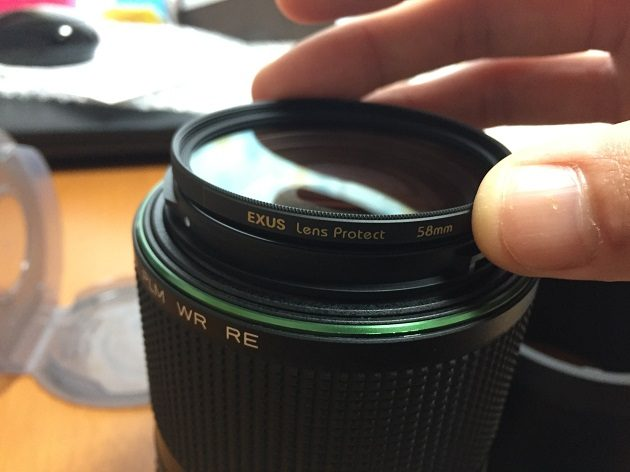 レンズプロテクト marumi EXUS 58mm