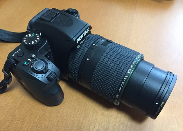 HD PENTAX-DA 55-300mmF4.5-6.3ED PLM WR REでの撮影可能状態