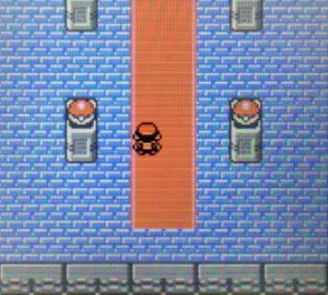 ポケモン金銀、チャンピオンのワタルの部屋