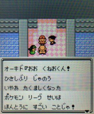 ポケモンリーグ制覇後のオーキド博士の言葉①