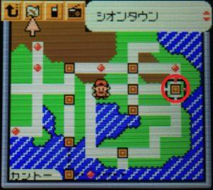 タウンマップ(シオンタウン)