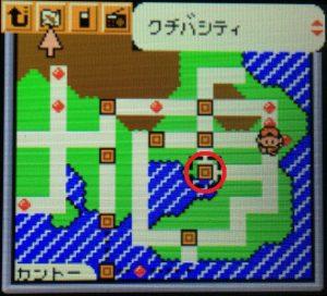タウンマップ(クチバシティ)
