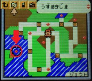 タウンマップ(うずまきじまの場所)
