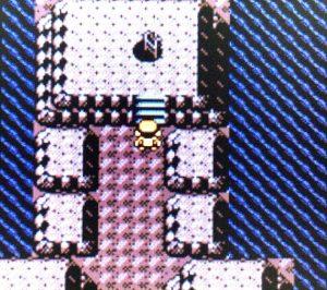 うずまきじまの洞窟内部