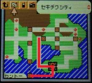 タウンマップ(サイクリングロード)