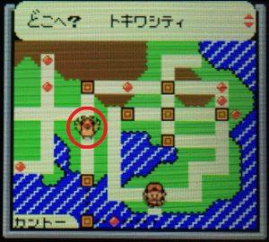 タウンマップ(トキワシティ)