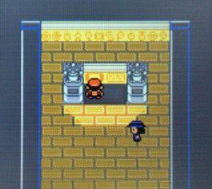 石版を解くと石版の部屋の床が抜ける