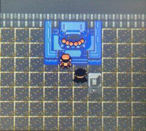 ポケモン金銀の殿堂入り部屋