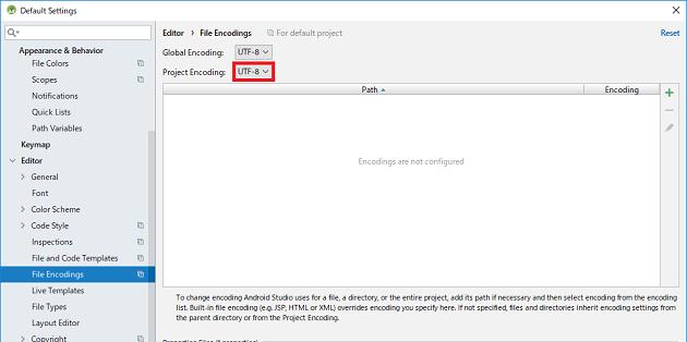 AndroidSDK_Windowsの注意点②