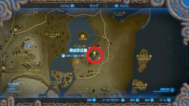 2つ目の大妖精の泉の場所