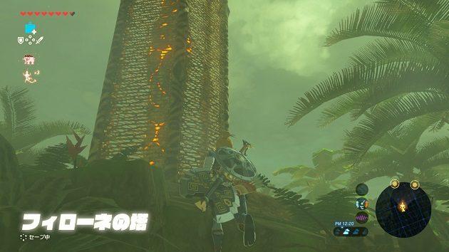 フィローネの塔に舞い戻る