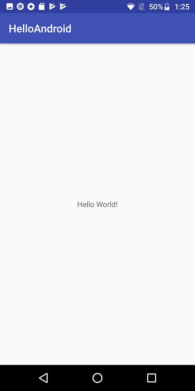 実機でのアプリ実行時のスクリーンショット