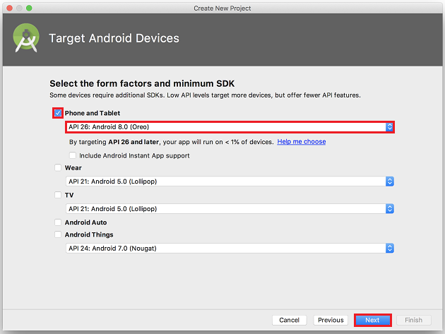 TargetAndroidDevices
