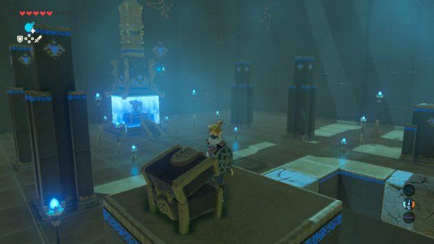 ヤ・ナーガの祠の祭壇