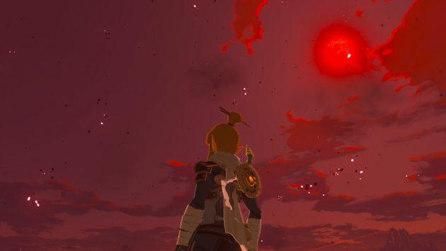 赤き月の夜来たる
