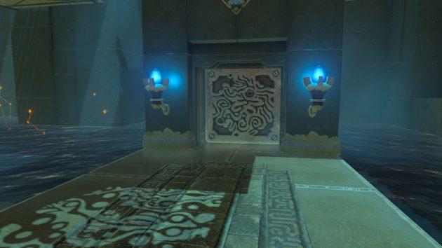 ダウ・ナエの祠の扉がオープン