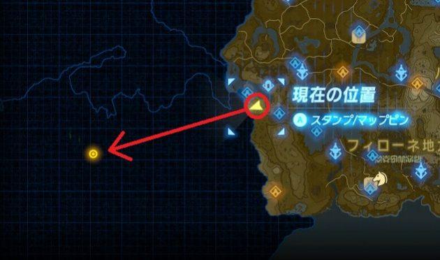 ゲルド地方のマップ