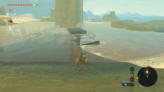 荒野の塔へと足場を固める