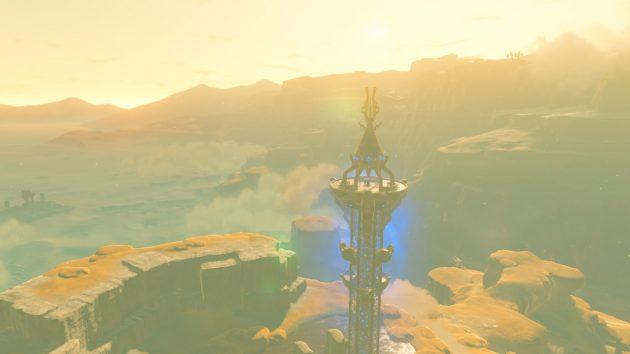 荒野の塔の起動