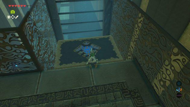 ミーロ・ツヒの祠のエレベーター