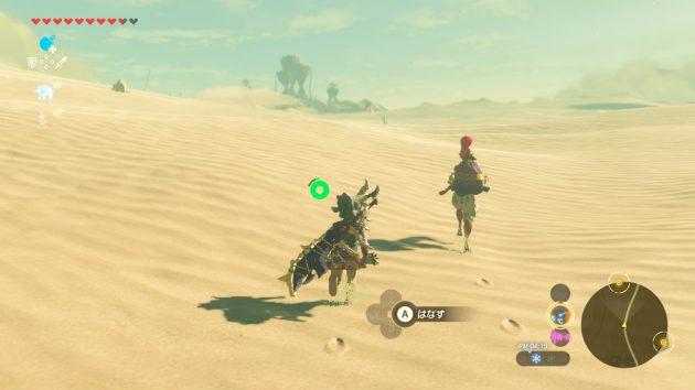 ゲルド砂漠のゲルド族