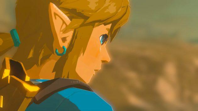 ゼルダ姫を守る時のリンクの表情
