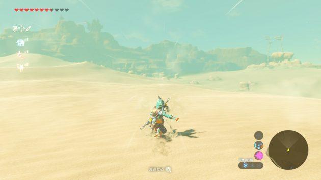 ゲルド砂漠でスナーフィン