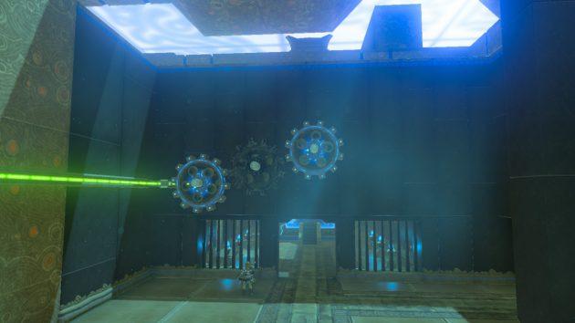 ハワ・カイの祠の祭壇への扉が開く