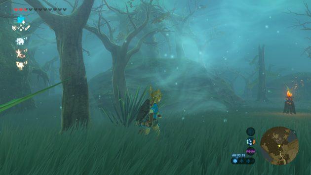 迷いの森を彷徨うリンク
