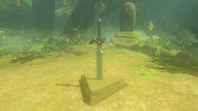 地面に刺さっている剣