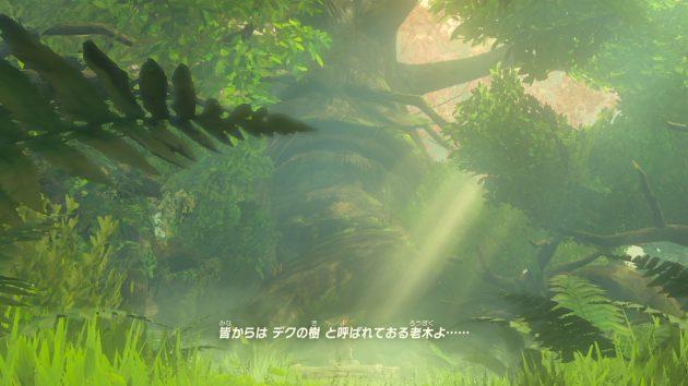 リンクとデクの樹の会話⑤