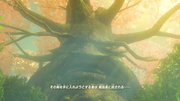 リンクとデクの樹の会話⑪