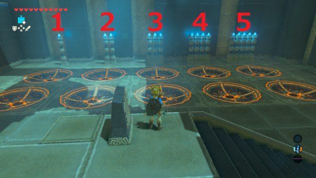 キヨ・ウーの祠、部屋の中央から見て右側