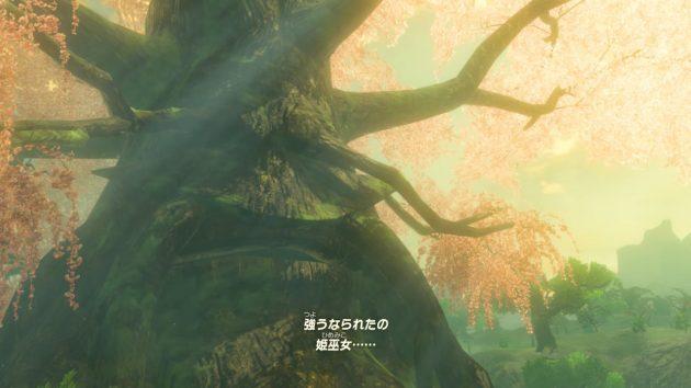 100年前のコログの森でのゼルダ姫の記憶⑧