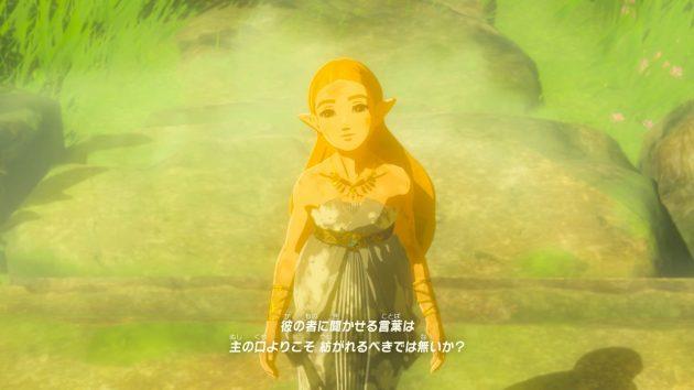 100年前のコログの森でのゼルダ姫の記憶⑪