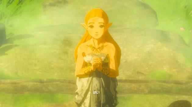 100年前のコログの森でのゼルダ姫の記憶⑫