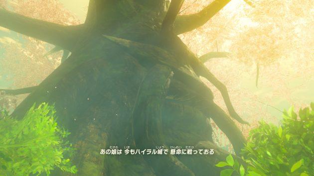 ゼルダ姫を語るデクの樹③