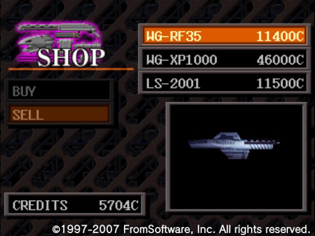 『WG-RF35』を売り払う