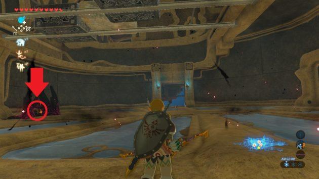 神獣ヴァ・メドーの体内、3つ目の宝箱を発見