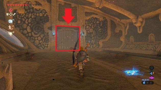 制御端末を阻む右翼部屋の門