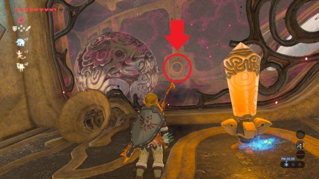 神獣ヴァ・メドーを操作して鉄球を運ぶ④