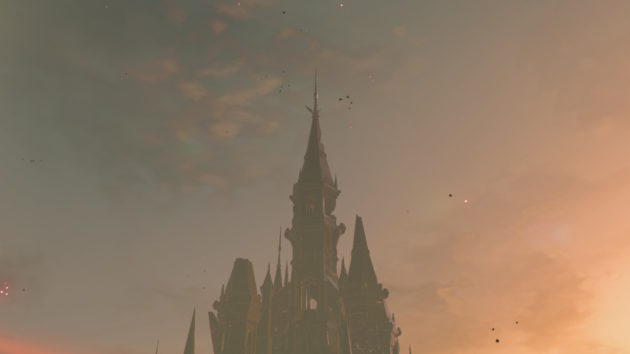 思い出の場所を求めてハイラル城へ⑤