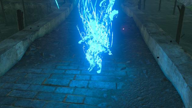 ハイラル城からワープで逃亡