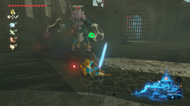三つ丸でのライネルとの戦い①