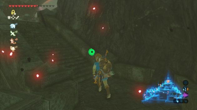 ゼルダ姫の部屋へ続く階段